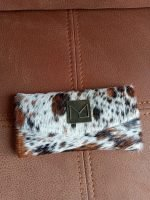 Nguni Wallet Brown And White
